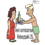 Veinivalmistamise komplekt (Retseptpakk)
