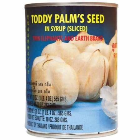 Toddy palmi seemned siirupis