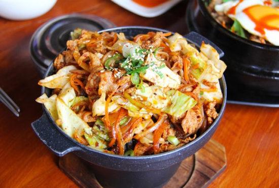 Korea köök Piprapood